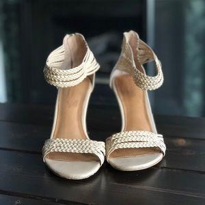Corso Como Zimroa sandal in nude nappa